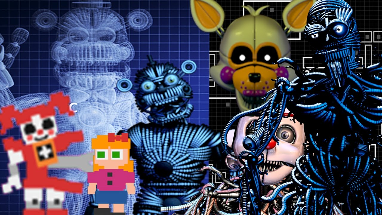 The Best Five Nights At Freddyu0027s: Sister Location Secrets U0026 Easter Eggs    YouTube