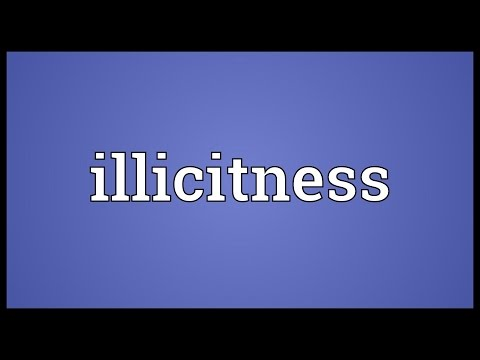 Header of illicitness