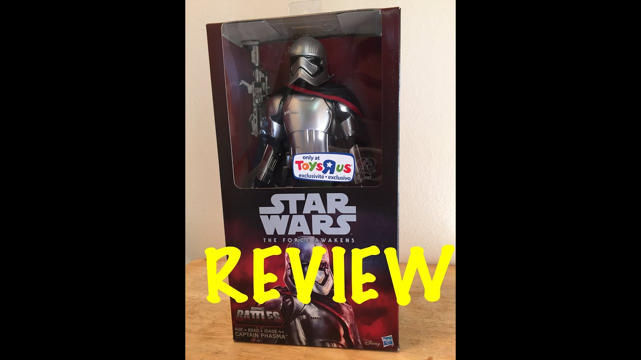 Star Wars Captain Phasma 12 Inch Toys R Us Exclusive