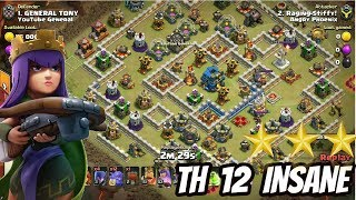 TH 12 BEST ATTACK STRATEGY - CLASH OF CLANS