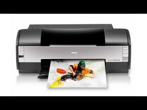epson stylus photo 1400 - YouTube