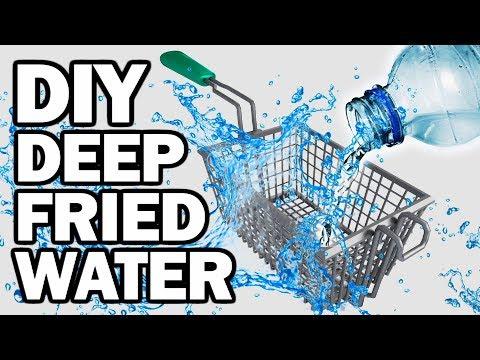 DIY DEEP FRIED WATER - Man Vs Fryer