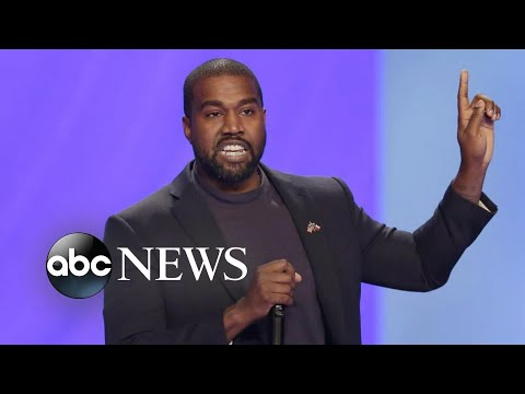 Kanye West hints at potential White House run