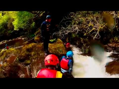 Canyoning Gartmore Scotland