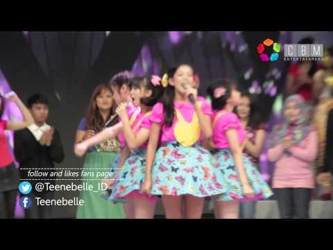 Teenebelle - Tersenyum Lagi Live at Dahsyat RCTI