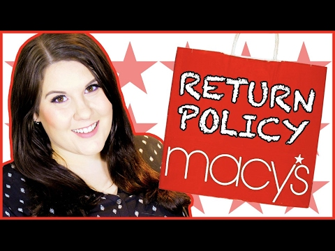 What Can You Return To Macy's? | Macy's Makeup Return Policy