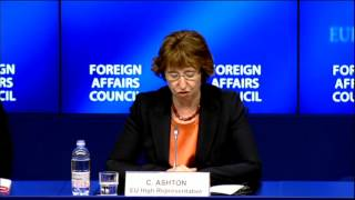 European Union position on Egypt - Council conclusions