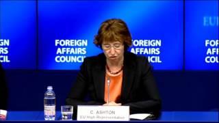 European Union position on Egypt - Council conclusions