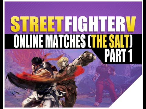 Street Fighter 5 Gameplay [Street Fighter V Online] *SFV Ken Masters* - 동영상