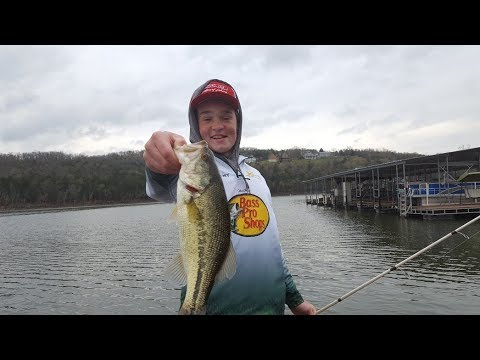 Table Rock Lake Video Fishing Report April 24, 2018