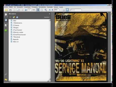 buell lightning x1 1999 2000 workshop service repair manual rh youtube com buell x1 repair manual buell x1 repair manual
