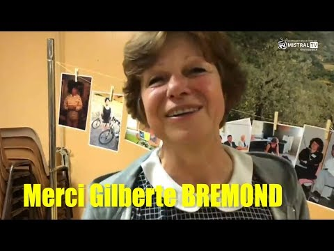 Merci Gilberte BREMOND