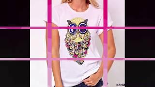 МОДА -2019. Супер модные футболки в этом году.-FASHION -2019. Super trendy t-shirts this year.