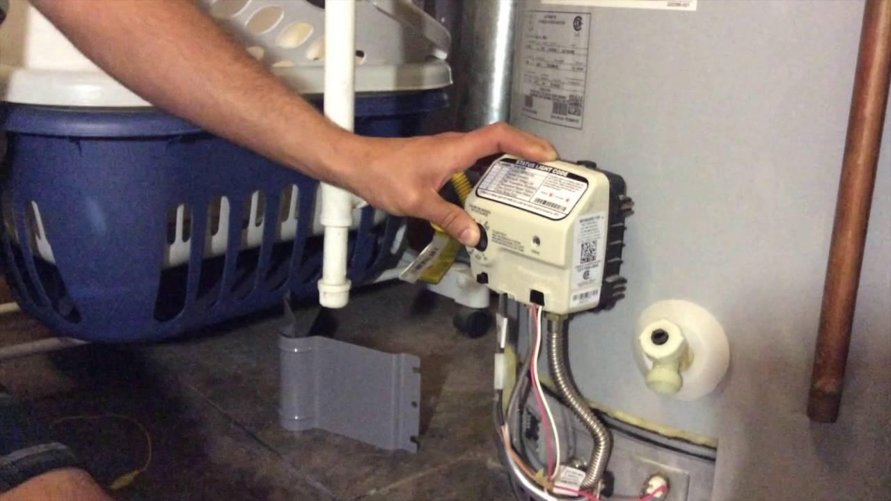 Bradford Water Heater >> Troubleshoot Faulty Honeywell Gas Valve 9007885 - YouTube