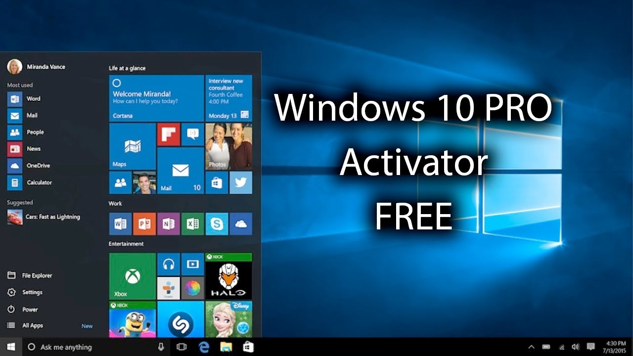 Activate not genuine windows 10 and any windows version youtube ccuart Gallery