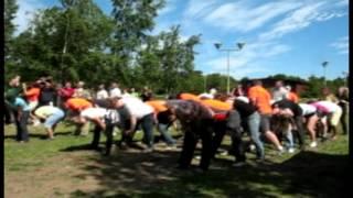 видео Корпоратив на природе с конкурсами