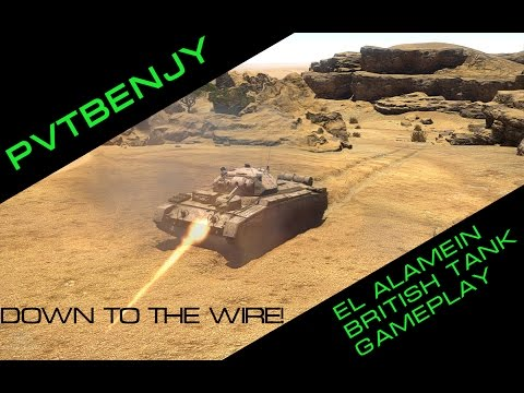 Down to the Wire! War Thunder Gameplay Second Battle of El Alamein