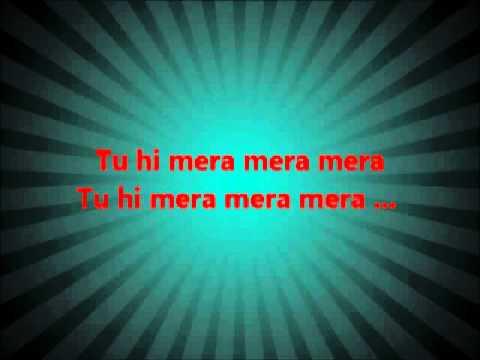 Tu Hi Mera Mera Mera Lyrics By HAMMAD-UR-REHMAN
