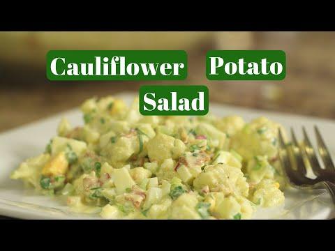 Cauliflower Potato Salad | Delicious Recipe | Rockin Robin Cooks