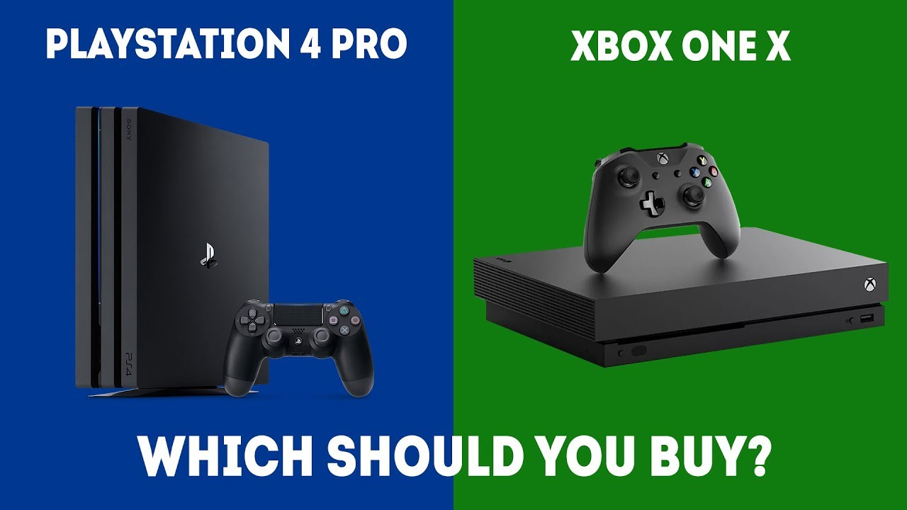 PlayStation 4 Pro vs XBOX One X , Which Should I Choose in 2019?