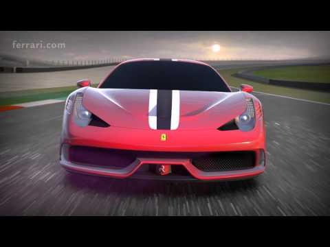 Ferrari 458 Speciale - Focus on vehicle dynamics