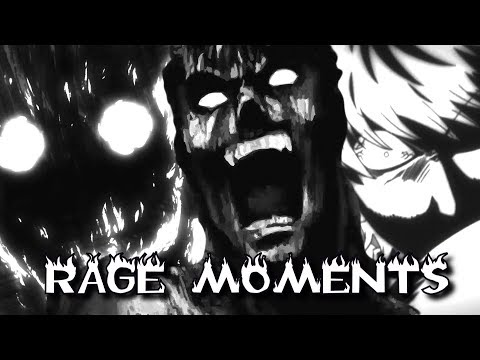 Top 10 Anime Main Characters Rage Moments