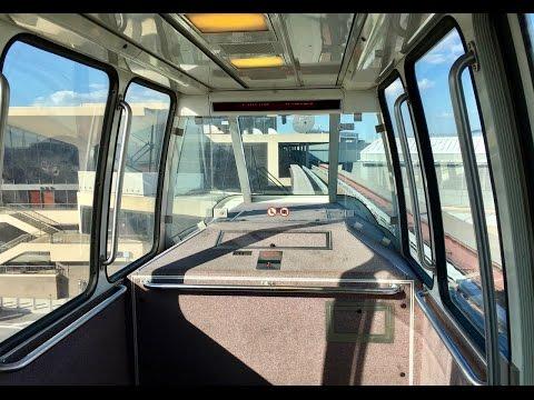 Newark Airport AirTrain Monorail switches - Von Roll