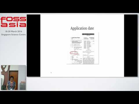 Anatomy of a Software Patent for a foss developer - Anwesha Das - FOSSASIA Summit 2016