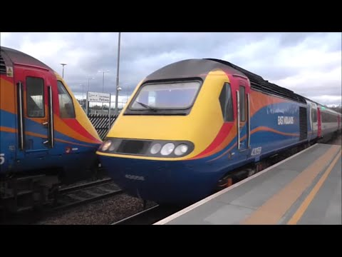 East Midlands Trains HST's | Paxman VP185 Compilation | 2015/2016