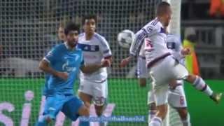 лИОН - ЗЕНИТ 0:2 Лига чемпионов Обзор матча