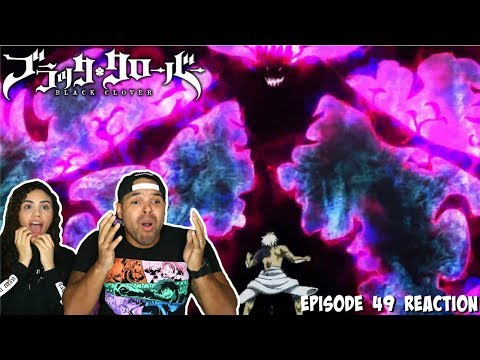 ASTA'S DEMON FORM?! Black Clover Episode 49 REACTION!!!