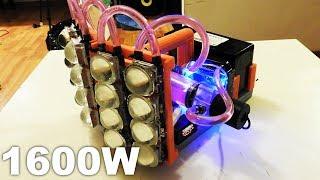 160,000 Lumen Water Cooled LED Flashlight - World