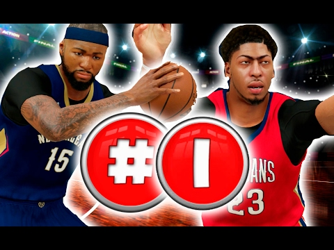 Will Demarcus Cousins And Anthony Davis Be The Best Big Man Duo Of All Time? NBA 2K17 Challenge