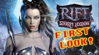 Rift: Storm Legion Gameplay - First Look!