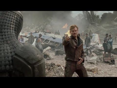 proof that starlord dancing goes with any song (TURN ON CAPTIONS!!)