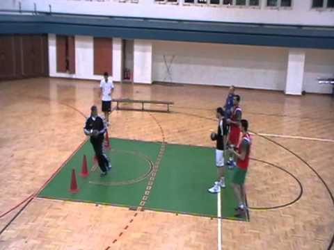 Des Exercices Pour Entrainement Pivot Handball Youtube