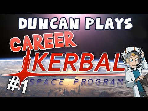 Kerbal Space Program - Part 1: To the Pole!
