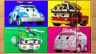Robocar Poli Game Puzzle Blocks
