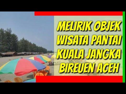 Melirik Objek Wisata Pantai Kuala Jangka Bireuen Aceh Youtube