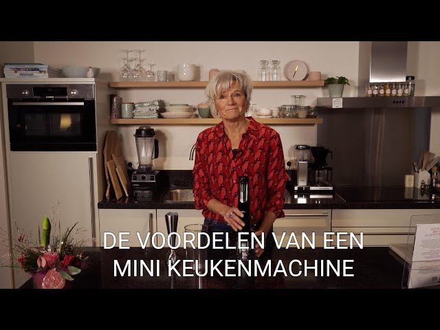 De voordelen van een mini keukenmachine