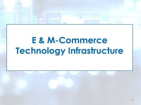 Topic 5 Section 3  E and mcommerce infrastructure and payment systems