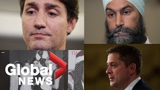 Canada Election: Trudeau faces media questions over blackface images and video