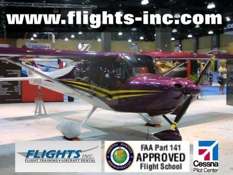 Cessna 162 Skycatcher, Flights Inc , light sport aircraft flight training  and aircraft rental
