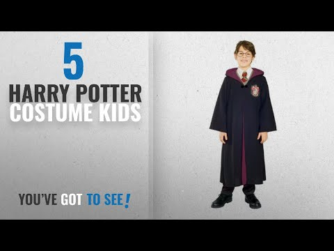 Top 10 Harry Potter Costume Kids [2018]: Child Harry Potter Deluxe Costume Medium