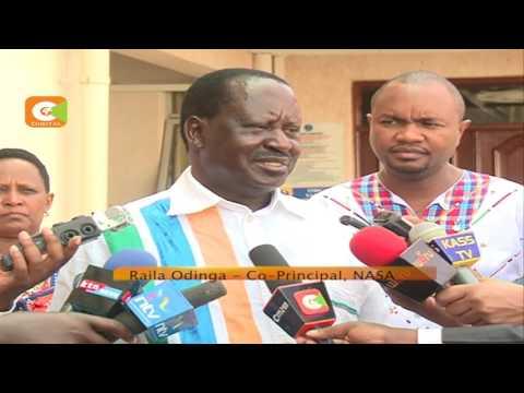 Nasa accuses IEBC of plan to rig election
