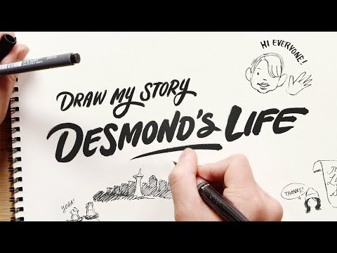 Desmond's Story | Draw My Story | HiHo Kids
