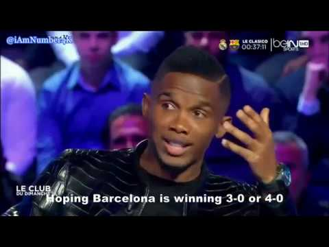 Download Samuel Eto'o on Pep Guardiola, He is not Normal