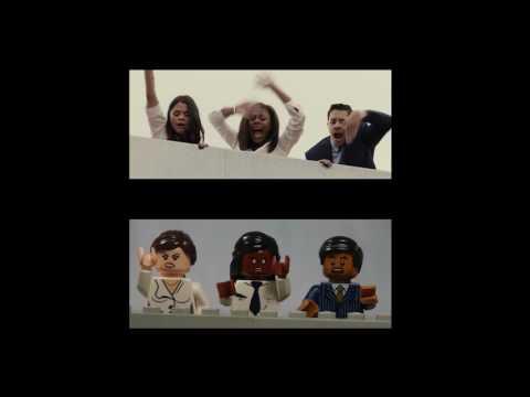 The Belko Experiment Lego Trailer Comparison
