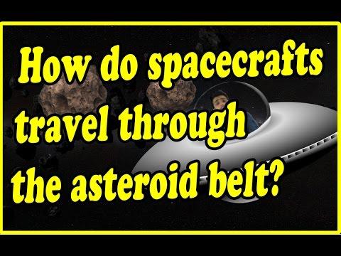 How do Spacecrafts travel through Asteroidbelt|Curiousminds97