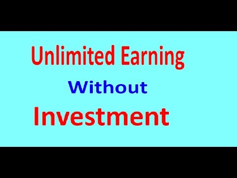 how to earn unlimited money without investment / Earn Money Online / Real Earning